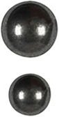 Black Nickel Nail Trim