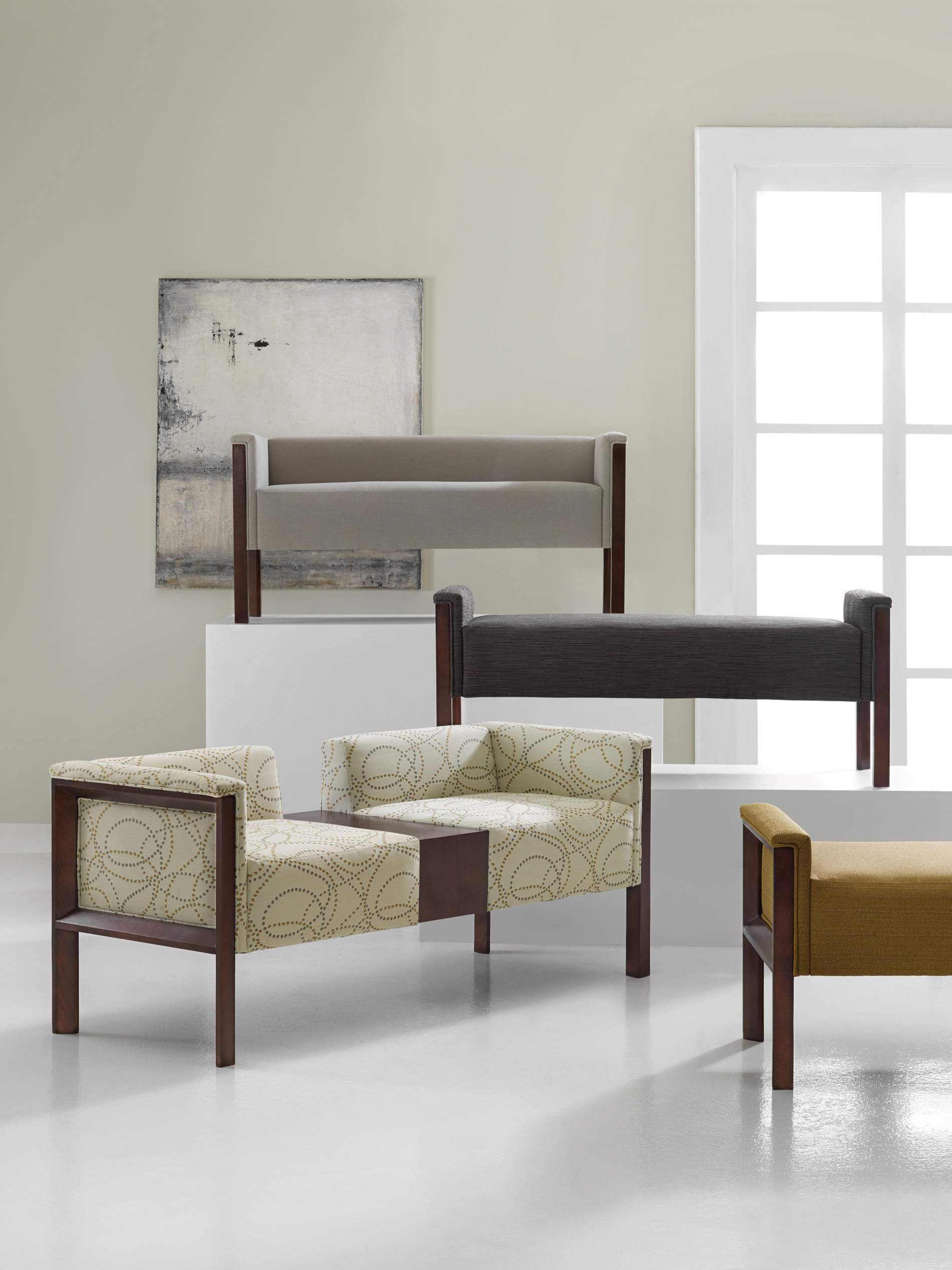 Canvas Bench H Contract Furniture
