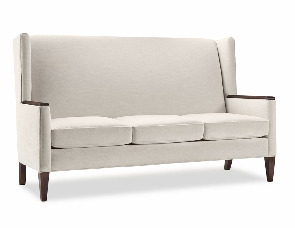 Layne sofa w arm caps h contract furniture