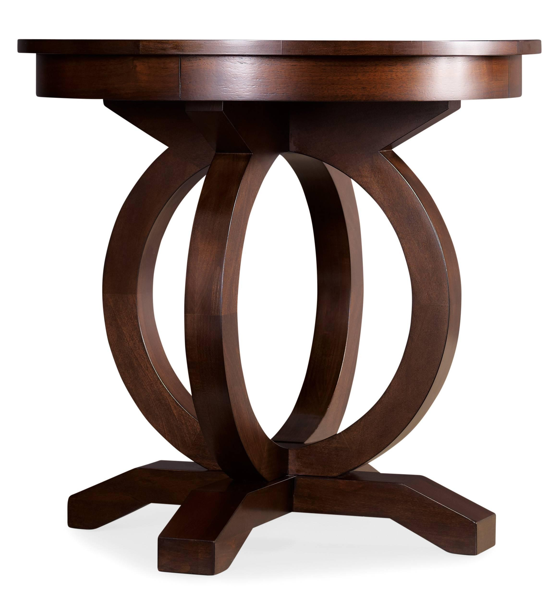 Glass Side End Lamp Coffee Table Lounge Low Occasional: Kinsey Round End Table